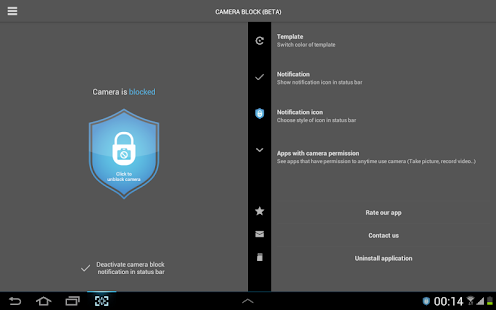 Camera Block - Spyware protect - screenshot thumbnail