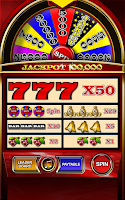 Screenshot of Money Wheel Slot Machine