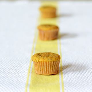 Paleo Lemon Poppyseed Muffins.