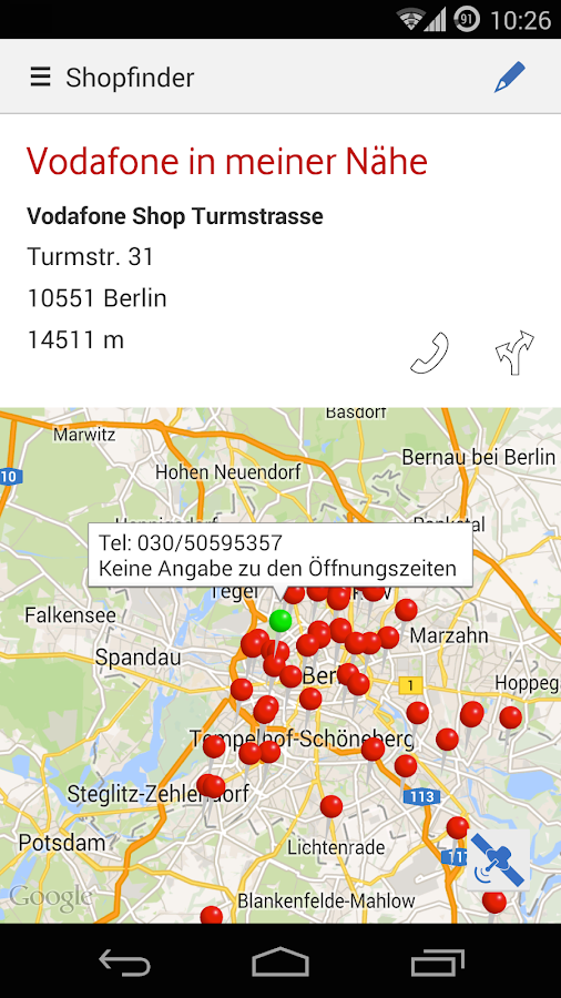MeinCallYa - screenshot