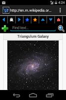 Screenshot of Sky Map of Constellations