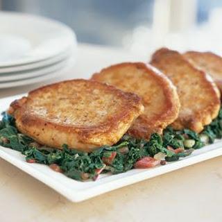 Braised Pork Chops.