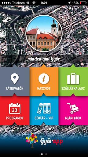 Győr és környéke app