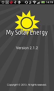 My Solar Energy - screenshot thumbnail