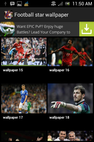 【免費個人化App】Football Star Wallpaper 2-APP點子
