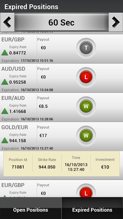 BDSwiss - Die Trading App. – Screenshot