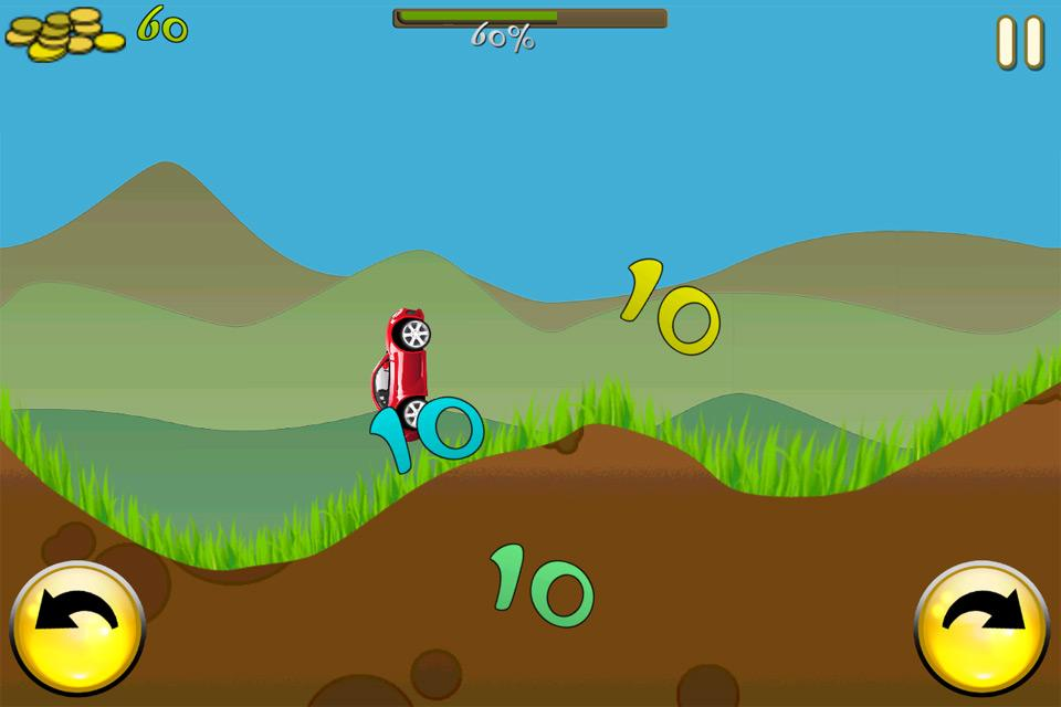 cool turbo fun kids car game screenshot