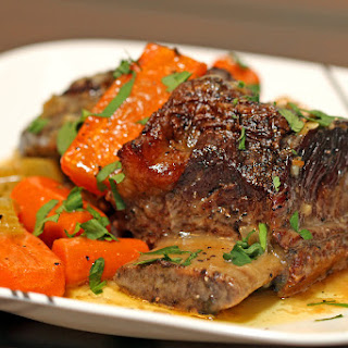 Braised Short Ribs with Citrus Gremolata
