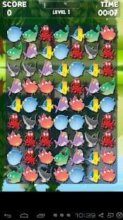 海洋動物匹配3遊戲