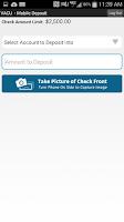 Screenshot of VACU Mobile Banking
