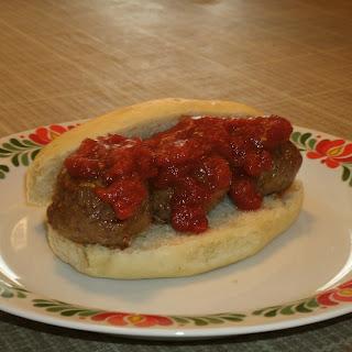 Spicy Meatballs -n- Sauce
