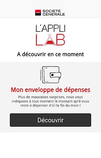 L'Appli LAB Société Générale