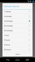 Screenshot of Simple Bitcoin Widget