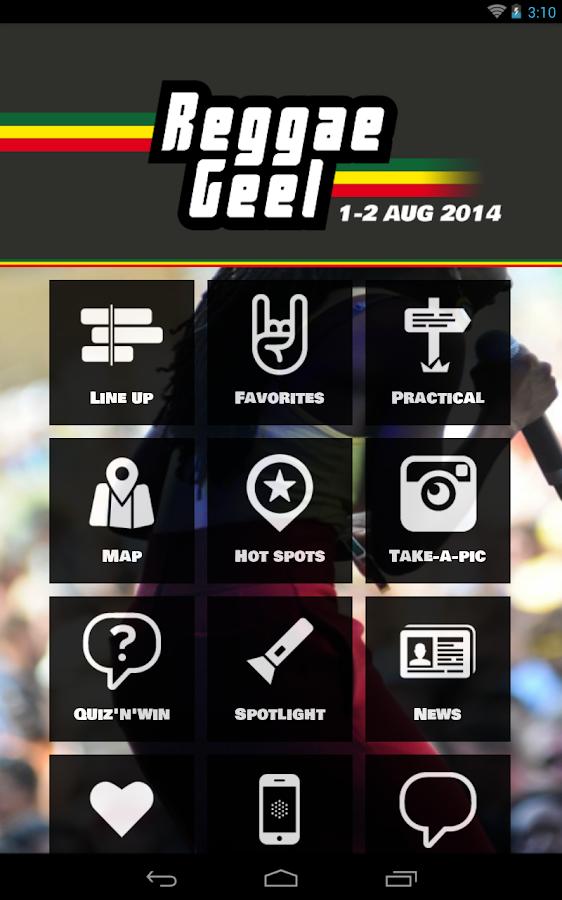 Reggae Geel - screenshot