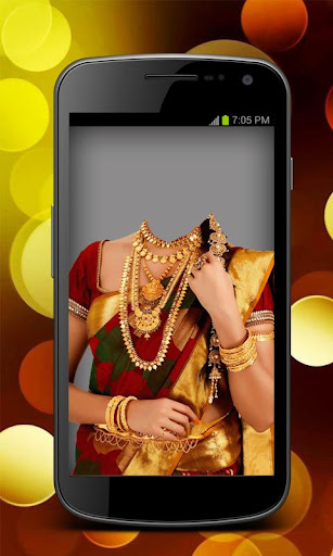 Bridal Saree Insta Photo Maker