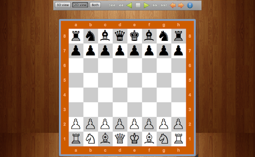 Chess Ulm 2D 3D