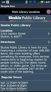 Skokie Public Library - screenshot thumbnail