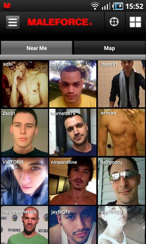 Maleforce Gay-Voice-Video Chat - screenshot