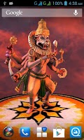 Screenshot of 3D Narasimha Live Wallpaper