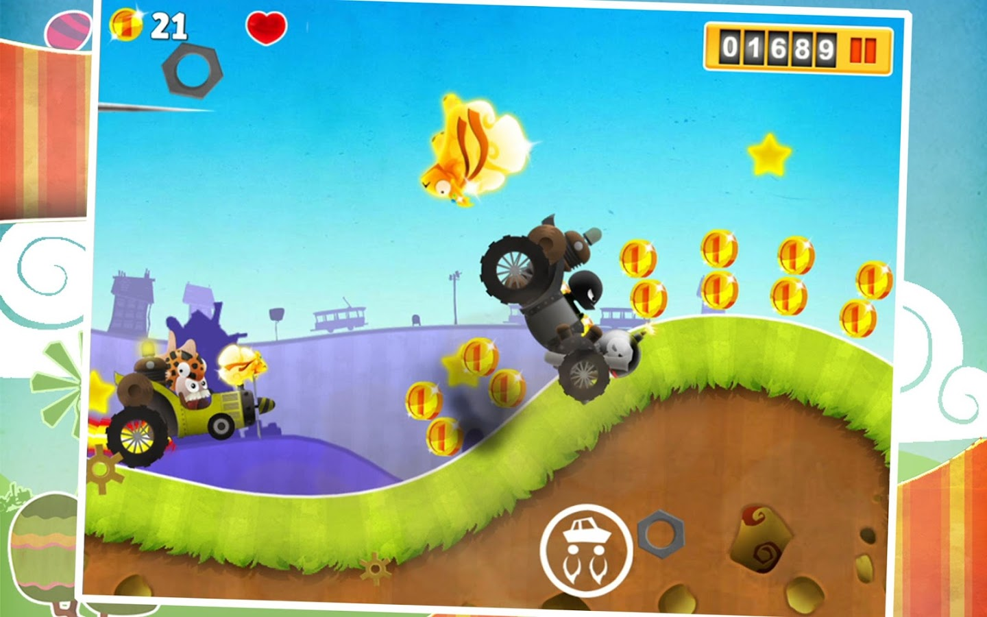 Turbolab Pursuit- screenshot