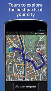 BikeCityGuide - Bike Navi GPS - screenshot thumbnail