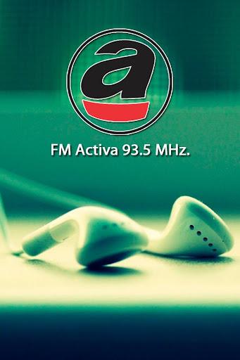 FM Activa 93.5 MHz.