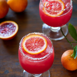 Blood Orange Margarita with Bitters.