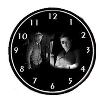 The Walking Dead Clock