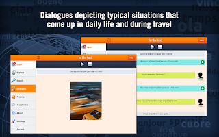 Screenshot of Learn French with MosaLingua