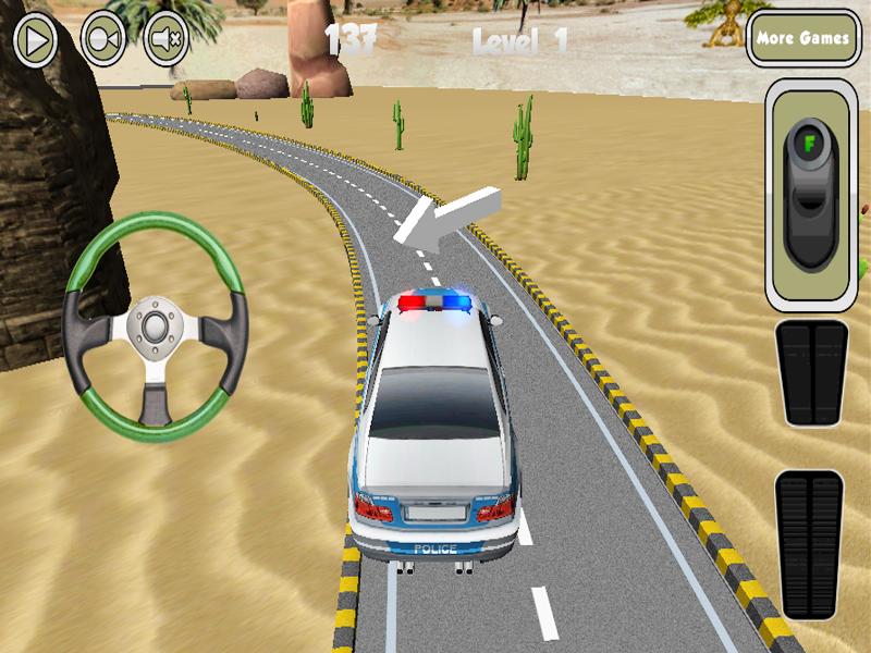 polizeiauto spiele