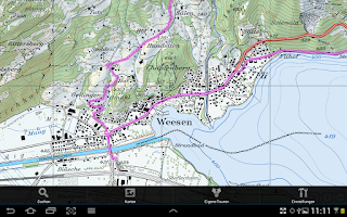 Screenshot of GPS-Tracks for Android