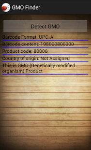 GMO Finder- screenshot thumbnail