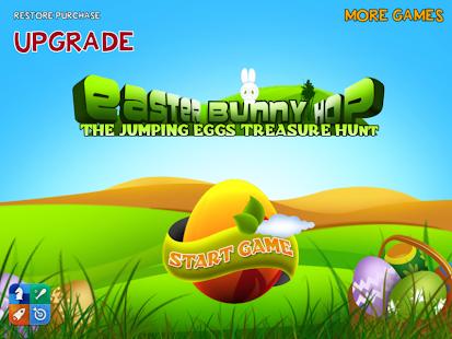 復活節兔子跳:雞蛋+狩獵