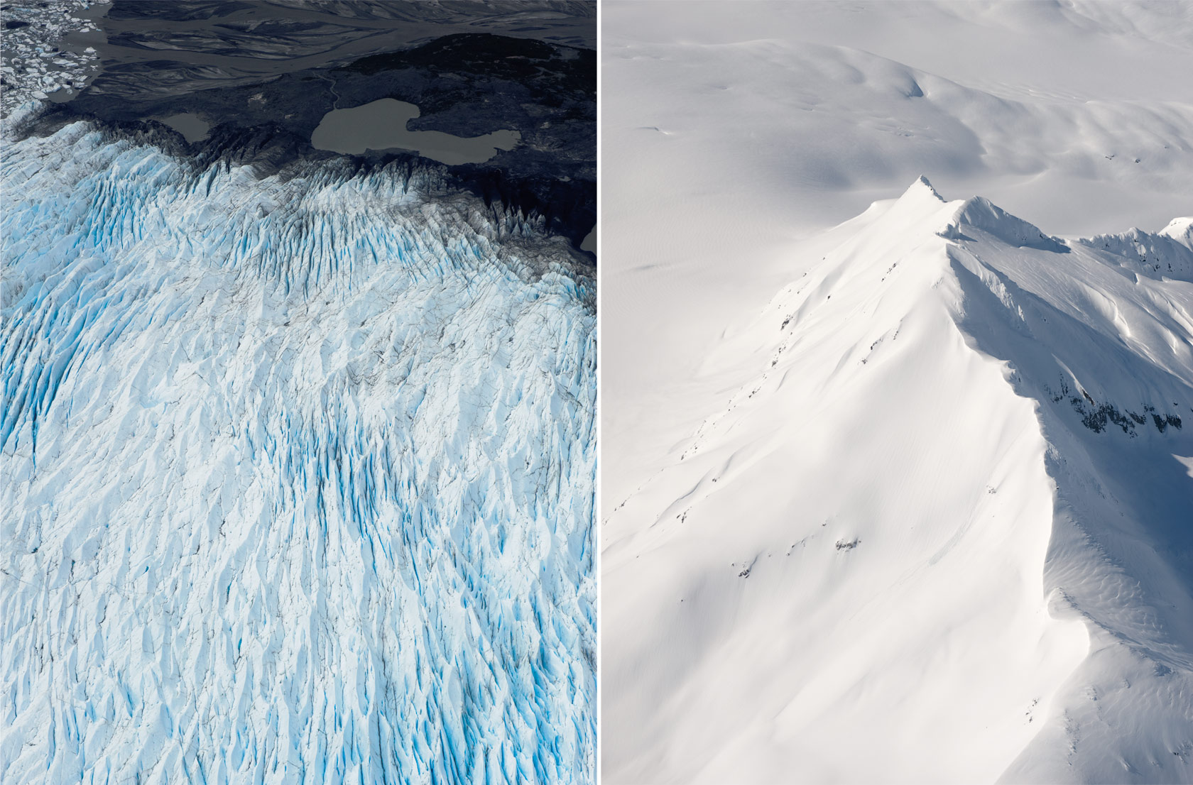 Aerials, South-Central Alaska