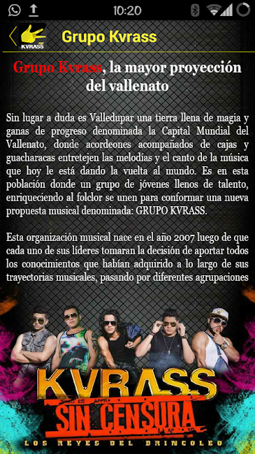 #7. Grupo Kvrass (Android)