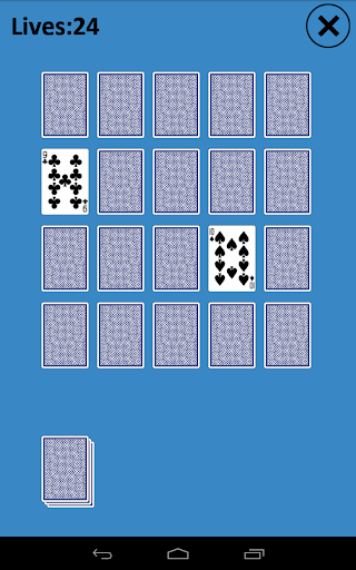 Memory Match Solitaire