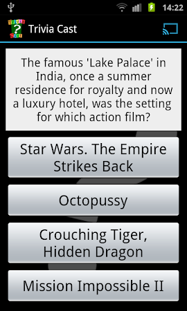 Trivia Cast for Chromecast 1.5 screenshot 1231843