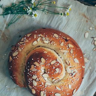 Marzipan Challah Recipe