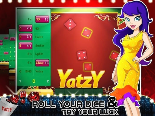 【免費博奕App】Yatzy Hot Dice Fire Game-APP點子