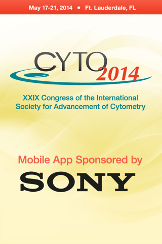 CYTO 2014- screenshot