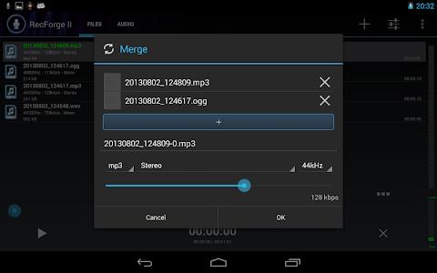 RecForge II - Audio Recorder v0.0.16g