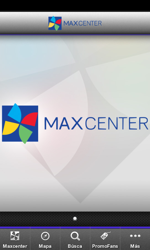 Max Center: captura de pantalla