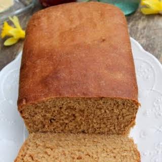 Soft 100% Whole Wheat Bread.