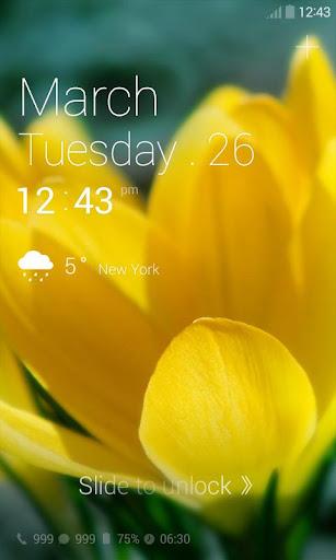 【免費個人化App】Whisper of Spring Dodol Theme-APP點子