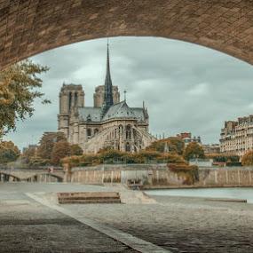sous les pons by Serge Thonon - Buildings & Architecture Architectural Detail