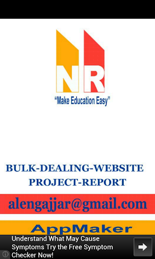BULK-DEALING-PROJECT-REPORT