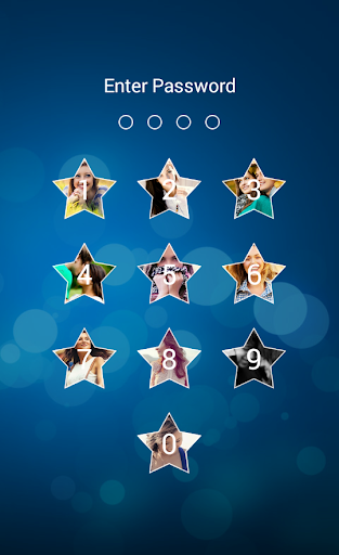 Star Passcode Photo LockScreen