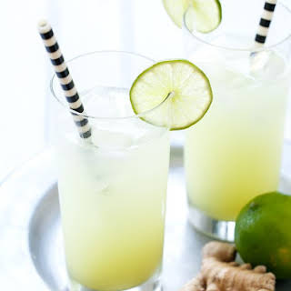 Fresh Ginger-Lime Tonic.