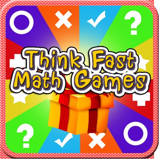 Think Fast Math Games LOGO-APP點子