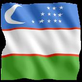 3D Узбекистан Флаг обои